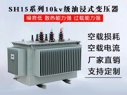 <b>SH15系列10kv级油浸式变压器</b>