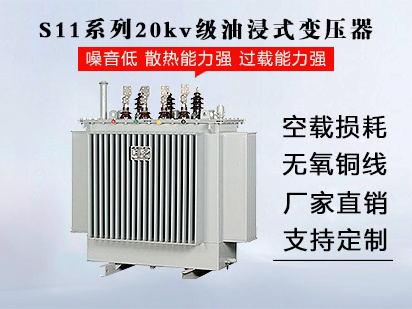 <b>S11系列20kv级油浸式变压器</b>
