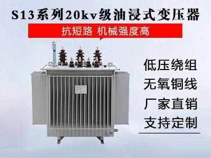 <b>S13系列20kv级油浸式变压器</b>