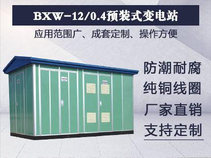 BXW-12/0.4预装式变电站