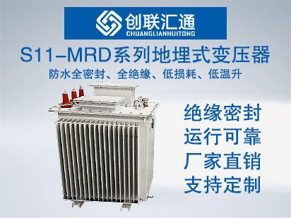 10kv级S11-MRD系列地埋式变压器